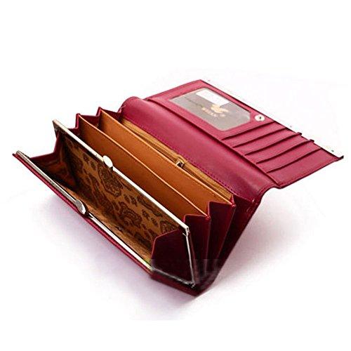 portefeuille femme avec photo