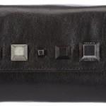 Diesel-STUDMEROUND-AMAZONITE-Portefeuilles-femme-Noir-Schwarz-black-T8013-19x10x3-cm-B-x-H-x-T-0