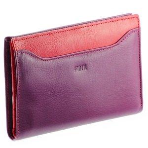 fancil portefeuille cuir rouge violet n1546 portefeuille femme portefeuille femme. Black Bedroom Furniture Sets. Home Design Ideas