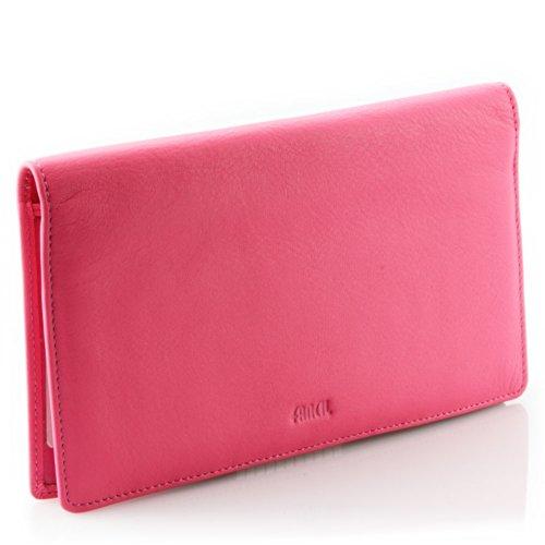 porte ch quier cuir rose n1651 portefeuille femme cuir de. Black Bedroom Furniture Sets. Home Design Ideas