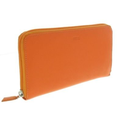 Fancil-Compagnon-porte-chquier-orange-intrieur-multicolore-0